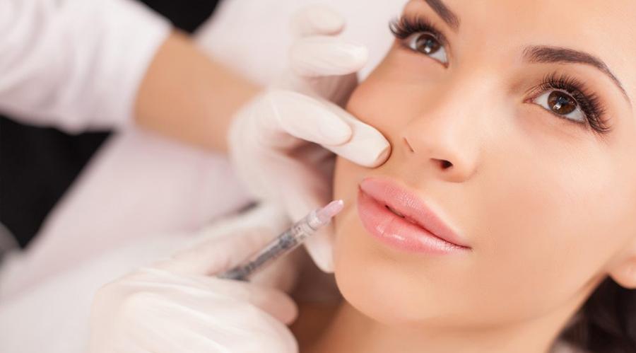 Эфект от ботокса в губы